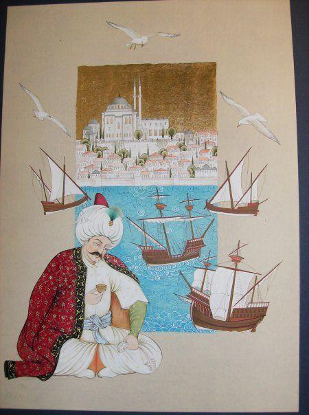 MİNYATÜR: Ozcan Özcan Yavuz Sultan Selim