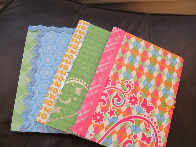 Composition Notebook Covers SO simple! :)