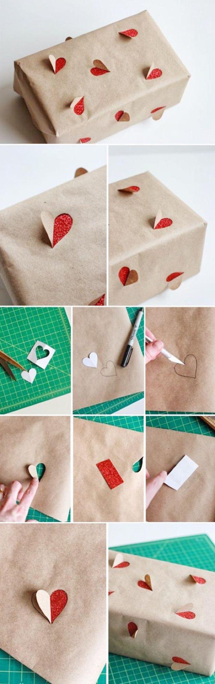 effective gift wrap idea