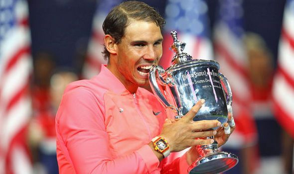 US Open 2017: Rafael Nadal can surpass Roger Federer's Grand Slam title report - CourierGETTY Rafael Nadal can overtake Roger Federer's Grand Slam title record - Jim CourierNadal clinched his 16th major title after winning the US Open crown for a third time with a straight sets win over Kevin Anderson at Flushing Meadows.  The Spaniard now finds himself just three behind arch rival Federer, who has claimed 19 slams - with his latest coming at this year's Wimbledon.  However, Courier reckons…