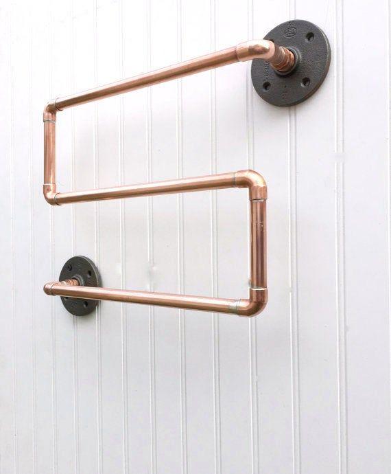 49+ Industrial pipe bathroom hardware ideas in 2021