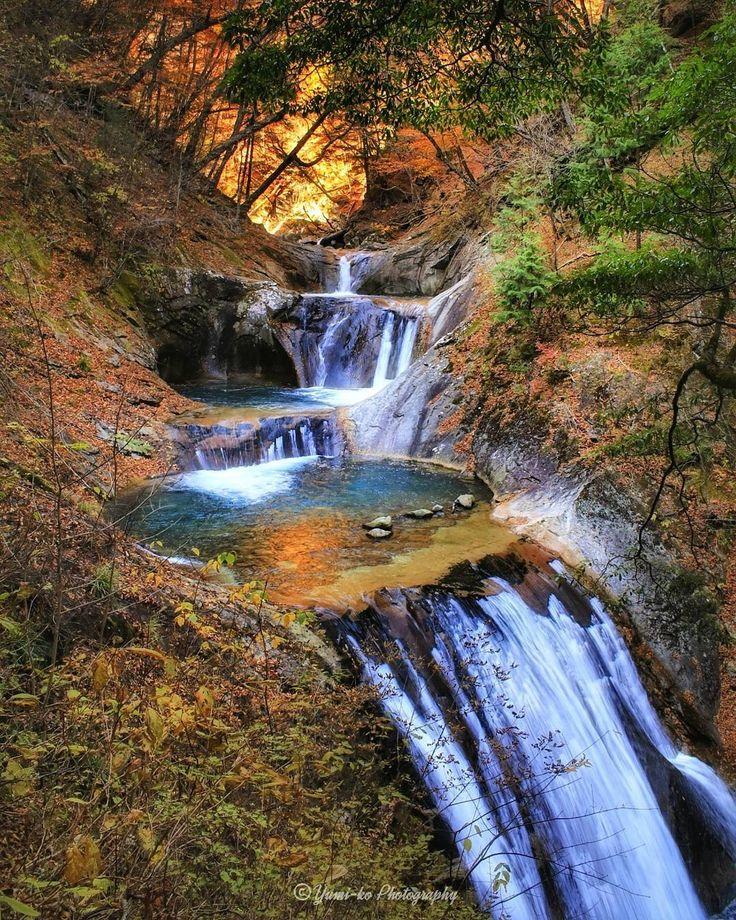 西沢渓谷 七ツ釜五段の滝 . . 2016 Autumn . . . Location: Yamanashi, Japan . . Thank you so much for the feature!! @nature_brilliance @picture_to_keep . #西沢渓谷 #七ツ釜五段の滝 #日本の滝百選 #滝 #紅葉 #落葉 #夕日 #山梨 #富士の国 #waterfall #Autumn #main_vision #ig_today #ig_dynamic #ig_worldclub #yourshotphotographer #curatethis1x #9vaga_flowersart9 #7flowers_1day #ファインダー越しの私の世界 #kix23