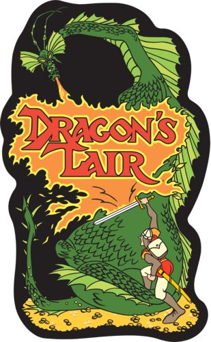 "Dragon's Lair, this is the first ""video game"" i ever played.  We got it for the PC over when I was about 6 years old and stayed up till 3 am playing it!"