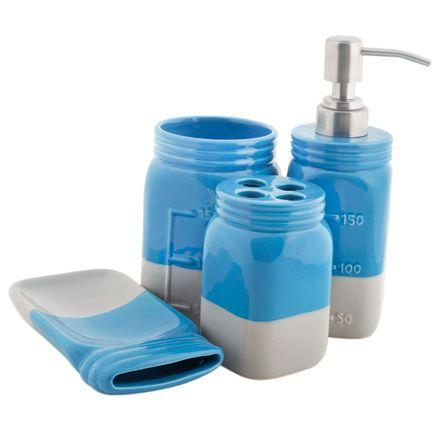 Buy True Blue Bathware Set Online - Chumbak