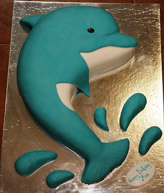 dolphin cake dubai by The House of Cakes Dubai, via Flickr