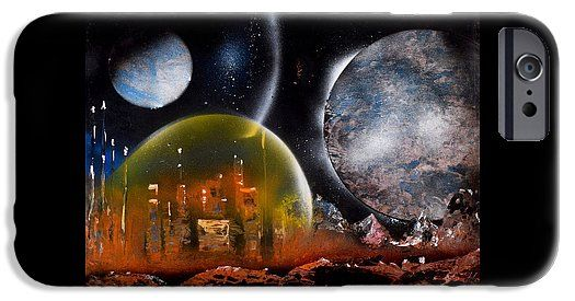 Protection IPhone 6s Case Printed with Fine Art spray painting image Protection by Nandor Molnar (When you visit the Shop, change the orientation, background color and image size as you wish)