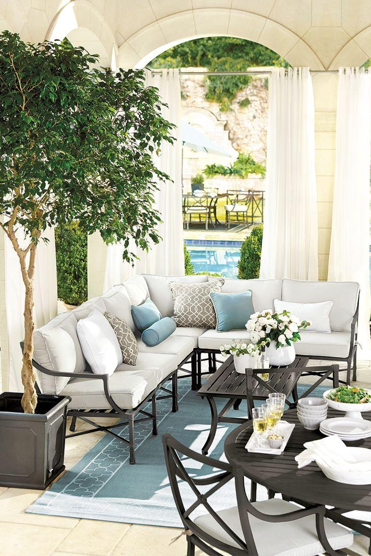 247 best patio images on pinterest suzanne kasler directoire collection from ballard designs
