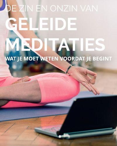 Mediteren met begeleiding, is GEEN meditatie. Lees het verschil tussen concentratie en meditatie zodat je weet wat je kunt verwachten.