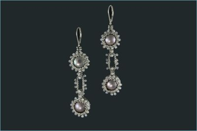South Seas Earrings PDF (Instructions Only) $25