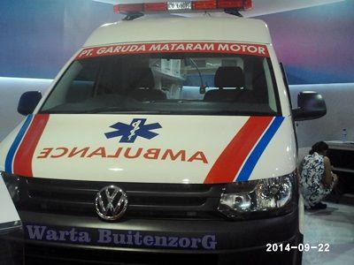 Ambulance Indonesia Exclusive dari VolksWagen (VW)