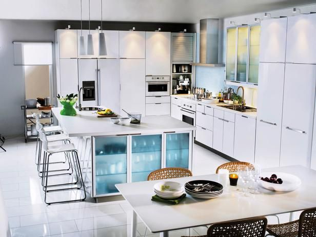 akurumabstrakt white kitchen akurum cabinets have a 25 year limited warranty ikea - Ikea Akurum Kitchen Cabinets