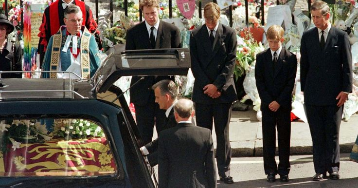 Does anyone REALLY care anymore ?????FYI I don't ! Earl Spencer described it as 'cruel' to make the princes follow her casket in interview to mark 20th anniversary of her death