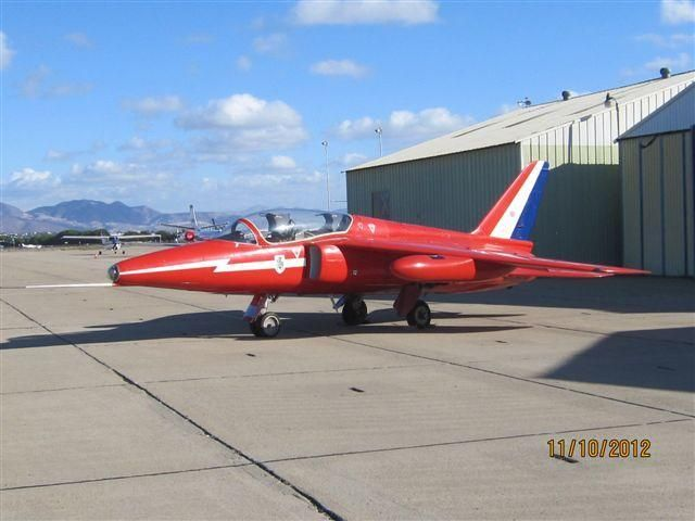 1966 BAe Folland Gnat - Former Royal Air Force Supersonic Gnat - Beautiful Plane! =>