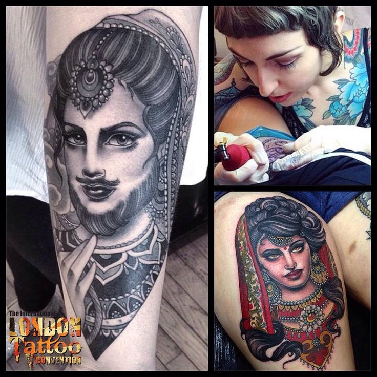 Flo Nuttall - Swang Song Tattoo, Italy will be attending the 11th London Tattoo Convention, 25/26/27 September 2015 Tobacco Dock