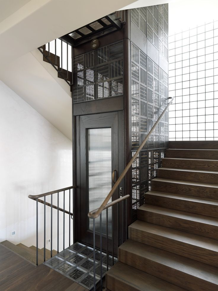 Stair/Lift Detail - Cremorne House by Decus