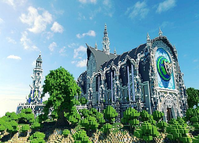 Aurelum [PMC Server Spawn Contest] Minecraft Project