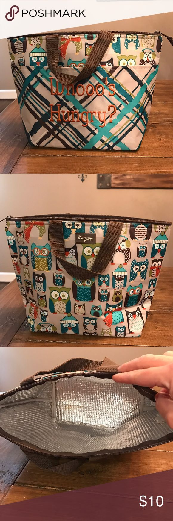Thirty One lunch bag Used lunch bag by Thirty One. Looks new though . thirty one Bags Totes