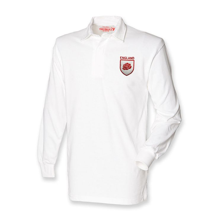 England Rugby Shirt TryBull Sports Swing Low Sweet Chariot 6 Nations Union TR33