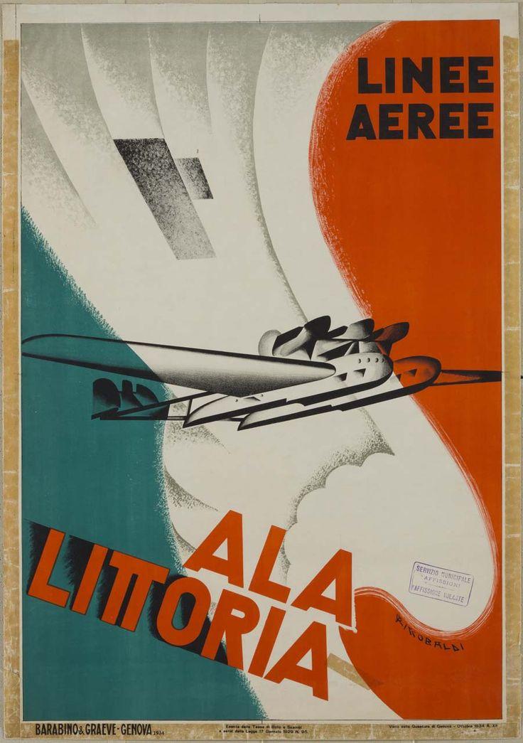 Ala Littoria, Giuseppe Riccobaldi Del Bava (1887-1976)