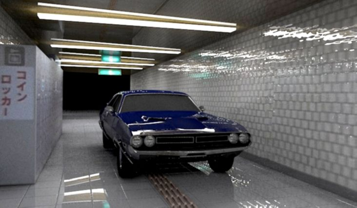 Car DC70 scene 3D by stanculau.deviantart.com on @deviantART