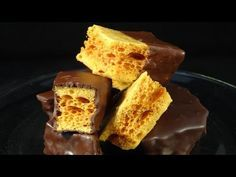 Homemade Honeycomb & Cadbury Crunchie Bars Recipe - Gemma's Bigger Bolder Baking Ep. 29 - YouTube
