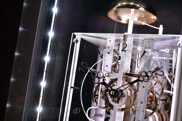 Horloge moderne, horloge design, horloge tendance, comtoise moderne, horloge comtoise moderne, horloge led, comtoise, horloge comtoise
