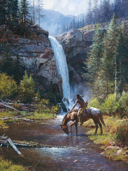 Somerset Fine Art - Peaceful Morn by Martin Grelle