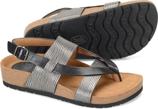 Sofft Bristol - Anthracite Black - View Sofft Womens
