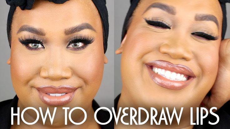 How To Overline Lips | DSL | PatrickStarrr