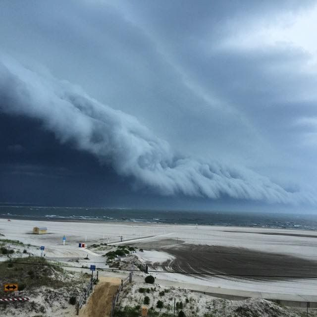 Best Storms Clouds Space Images On Pinterest Spaces - Beautiful photographs of storm clouds look like rolling ocean waves