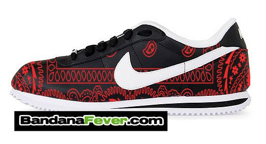cortez shoes red
