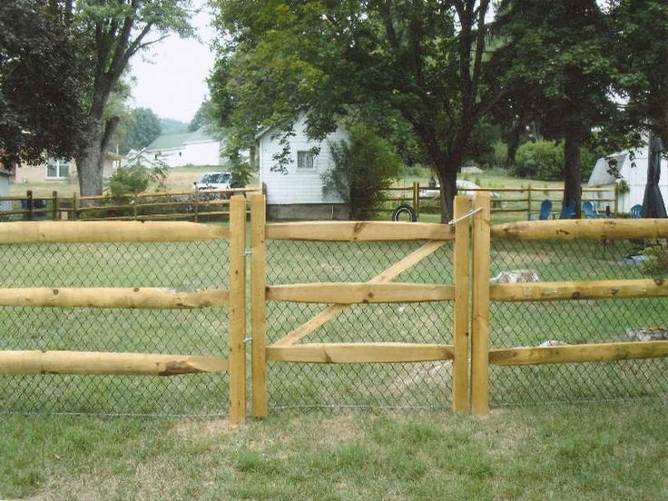 Simple split rail fence gate design http for Simple fence plans