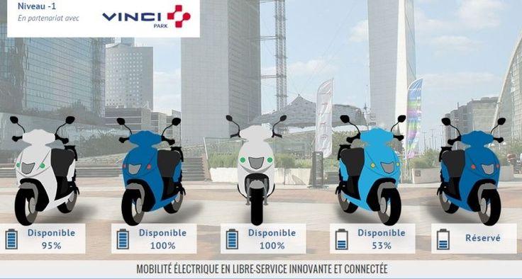 Vinci Paris : Scooter électrique en location, c'est parti !