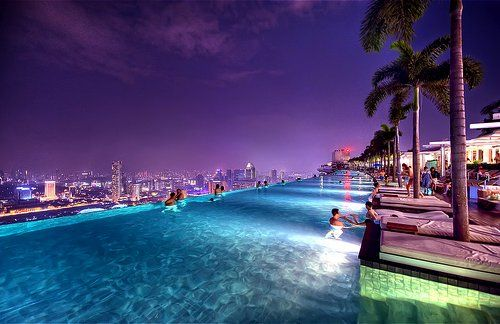 amazing: Dreams Places, Buckets Lists, Favorite Places, Swim Pools, Marina Bay Sands, Travel, Marina Bays Sands, Singapore, Infinity Pools
