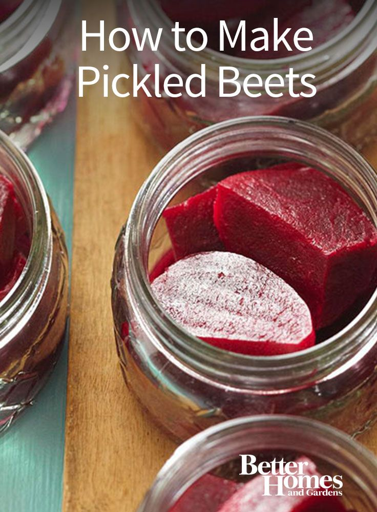 Find out how to make your own pickled beets! This easy-to-follow recipe has step-by-step instructions for how to create this canned food. If you want to try a new, healthy recipe, give pickled beets a spin!