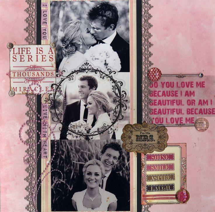 Do you Love me Because I am Beautiful - Scrapbook.com