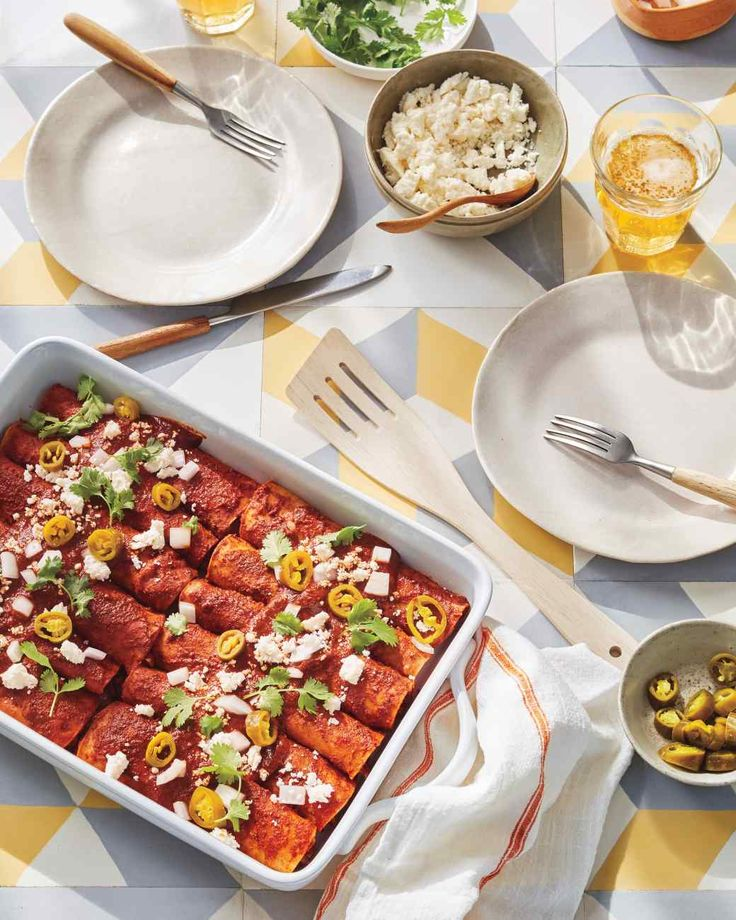 The finish on these enchiladas is more authentic than their melted-cheese-topped…