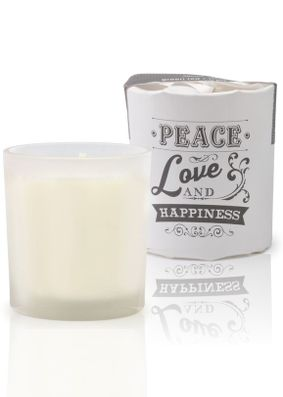 Abode Aroma Christmas Green Tea & White Pear Candle