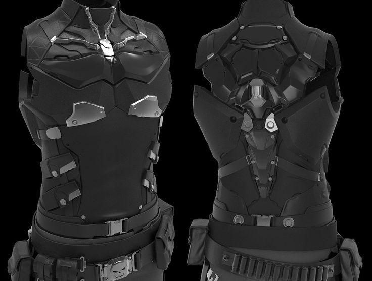 cyber armor vest