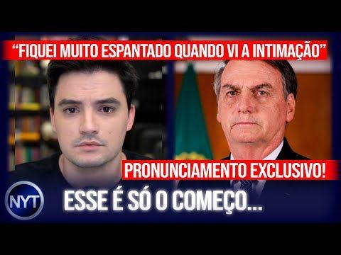 @Felipe Neto se pronuncia em vídeo após ser intimado a depor por crime contra Jair Bolsonaro - YouTube
