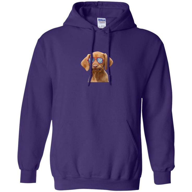 Happy Fourth Of July Funny Dog G185 Gildan Pullover Hoodie 8 oz.