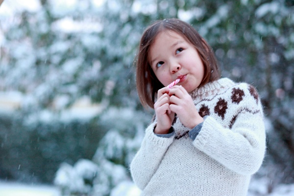 Sweater Gudny, Mormor.nu, Hand-knitted sweater, handknitted children's clothes #kids