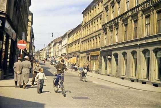 Ottar Gladtvedt - Markveien, Oslo, Norway 1958.