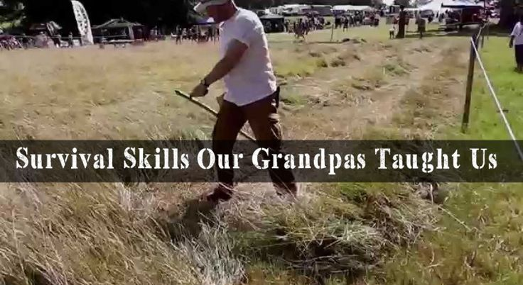 Back to Basics: Survival Skills Our Grandpas Taught Us
