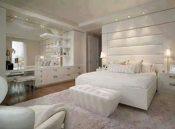 dream bedroom designs. Pricey Luxury Penthouse in New York as Urban Living Space  Gorgeous NYC All White Bedroom Decoration By Pepe Calderin Design 342 best dreams images on Pinterest Pictures