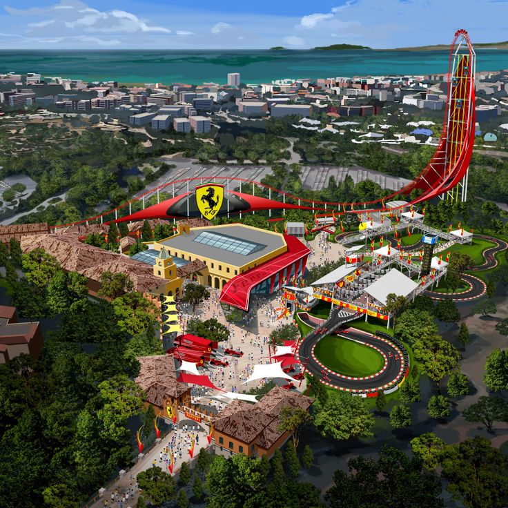 Ferrari to build a theme park in Spain. Next ITCH Away day... Visit us at www.itchltd.com