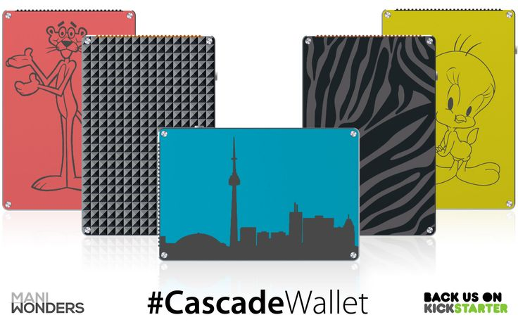 Get creative. Go bananas. Engrave #CascadeWallet #MANIWONDERS #product from #thesix #kickstarter http://kck.st/1wtB4BP