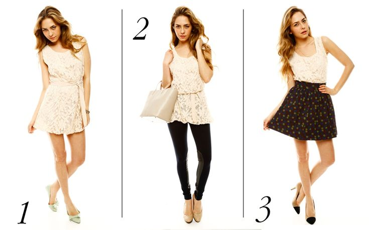 How to Wear a Floral Dress Three Ways!