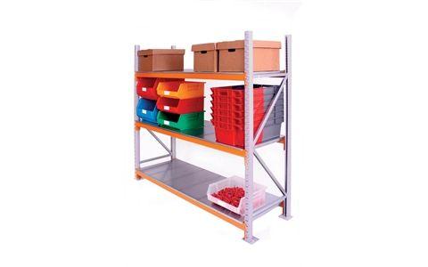 Storage Design Limited - Shelving & Racking - Warehouse Racking & Shelving - Medium Duty Warehouse Shelving - Medium Duty Warehouse Shelving Bays