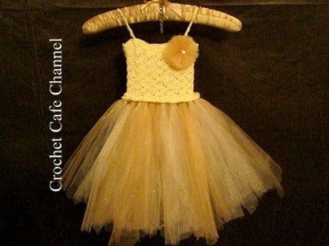102 Best Crochet Tutu Tulle Dress Skirt Images On Pinterest